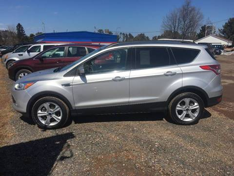 2014 Ford Escape for sale at LUTEYS Heritage Motors in Marquette MI