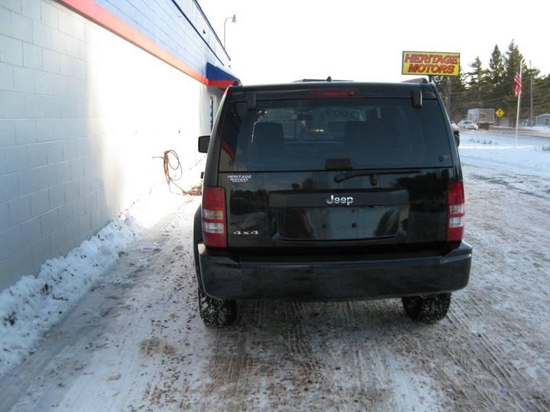 2009 Jeep Liberty 4x4 Sport 4dr SUV - Marquette MI