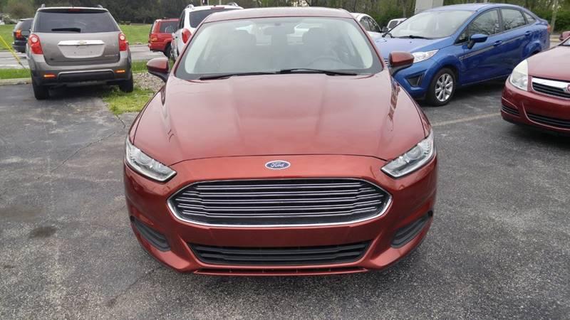 2014 Ford Fusion S 4dr Sedan - Fort Wayne IN
