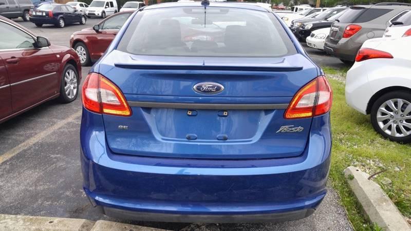 2011 Ford Fiesta SE 4dr Sedan - Fort Wayne IN