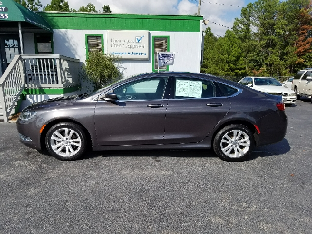 2015 CHRYSLER 200 LIMITED 4DR SEDAN gray abs - 4-wheel active grille shutters air filtration a