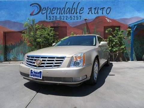 2007 Cadillac DTS for sale in Tucson, AZ
