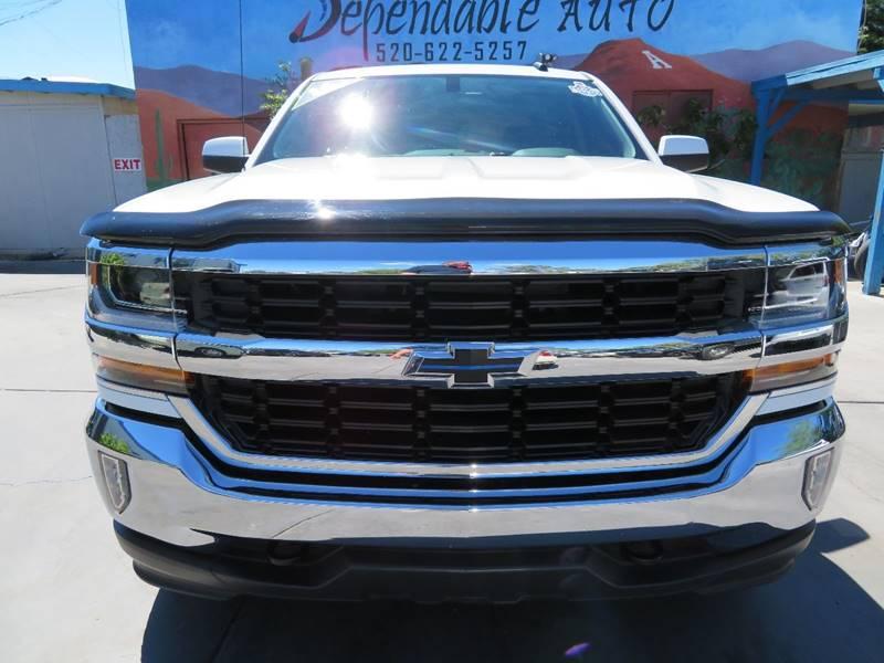 2016 Chevrolet Silverado 1500 4x4 LT 4dr Crew Cab 6.5 ft. SB w/Z71 - Tucson AZ