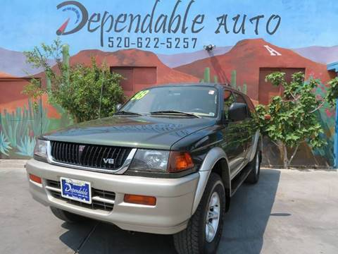 1998 Mitsubishi Montero Sport for sale in Tucson, AZ