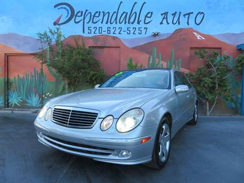 2004 Mercedes-Benz E-Class for sale in Tucson, AZ