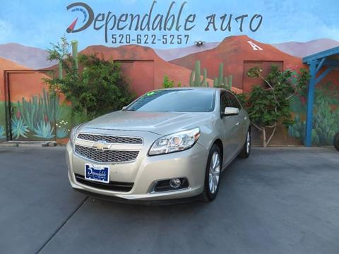 2013 Chevrolet Malibu for sale in Tucson, AZ