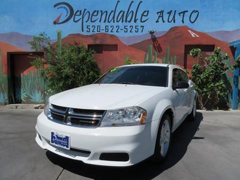 2013 Dodge Avenger for sale in Tucson, AZ