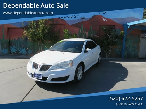 2010 Pontiac G6 for sale in Tucson, AZ