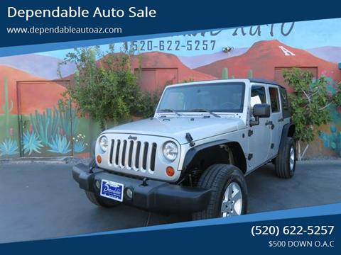 2007 Jeep Wrangler Unlimited for sale in Tucson, AZ