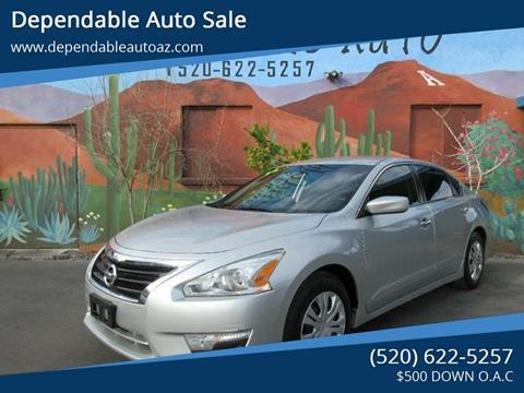 2014 Nissan Altima for sale in Tucson, AZ