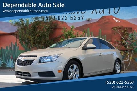 2012 Chevrolet Cruze for sale in Tucson, AZ