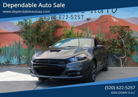 2016 Dodge Dart for sale in Tucson, AZ