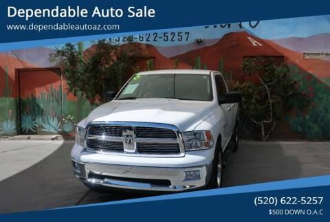 Used Trucks Tucson >> 2012 Ram Ram Pickup 1500 For Sale In Tucson Az