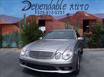 2005 Mercedes-Benz E-Class for sale in Tucson, AZ