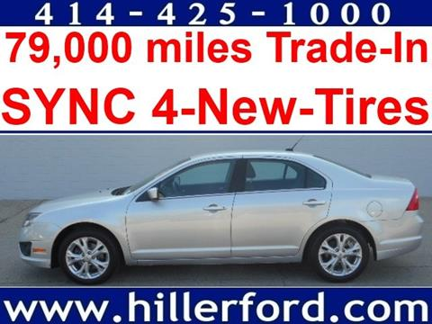 2012 Ford Fusion for sale in Franklin WI