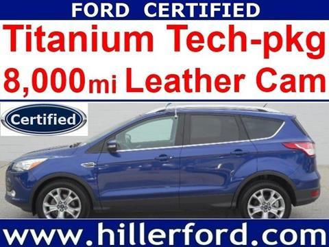 2016 Ford Escape for sale in Franklin WI