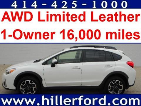 2016 Subaru Crosstrek for sale in Franklin WI