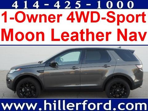 2016 Land Rover Discovery Sport for sale in Franklin WI