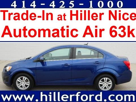 2013 Chevrolet Sonic for sale in Franklin, WI