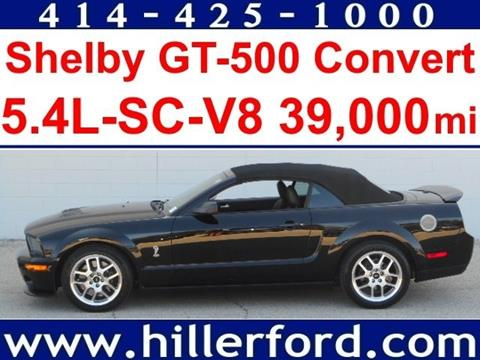2008 Ford Shelby GT500 for sale in Franklin, WI
