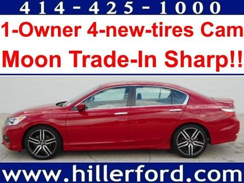 2017 Honda Accord for sale in Franklin, WI