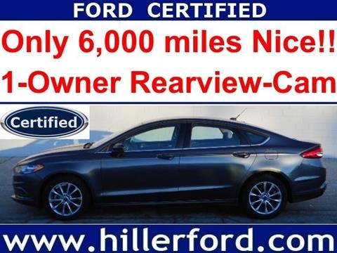 2017 Ford Fusion for sale in Franklin, WI