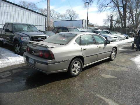 2001 Chevrolet Impala for sale at Northwest Auto Sales in Farmington MN