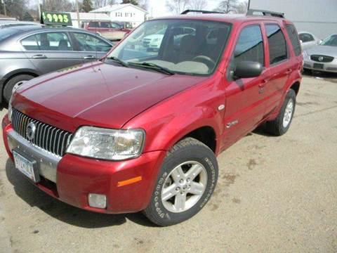 2006 Mercury Mariner Hybrid for sale at Northwest Auto Sales in Farmington MN