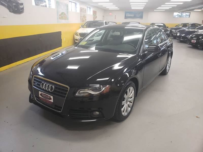 Audi A T Quattro Premium In Newton MA Newton Automotive - Audi a4 for sale