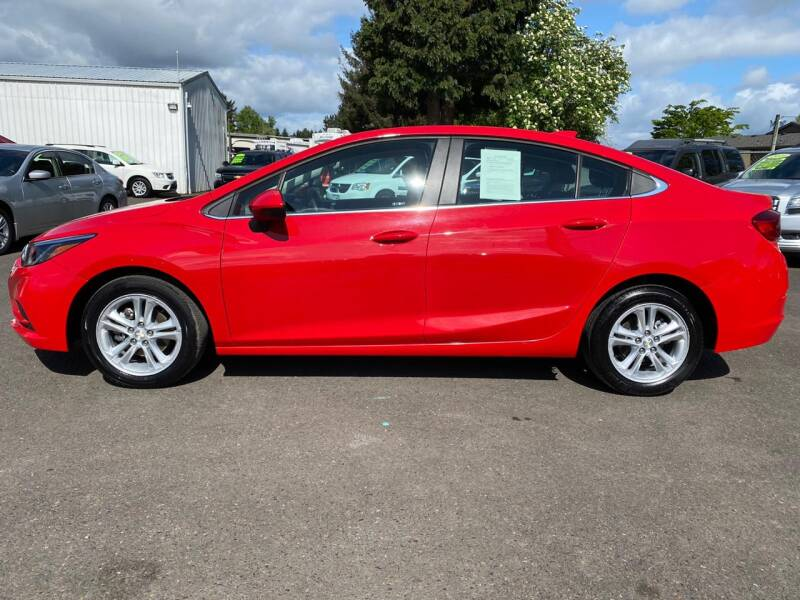 2018 Chevrolet Cruze LT Auto 4dr Sedan - Woodburn OR