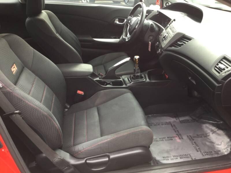 2012 Honda Civic Si 2dr Coupe - Woodburn OR