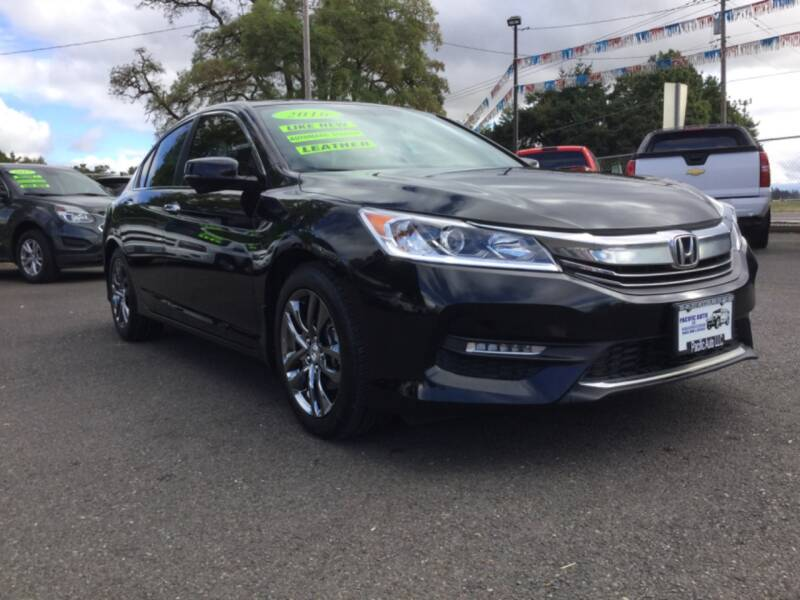 2016 Honda Accord EX-L 4dr Sedan - Woodburn OR
