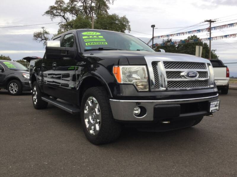 2011 Ford F-150 4x4 Lariat 4dr SuperCrew Styleside 5.5 ft. SB - Woodburn OR
