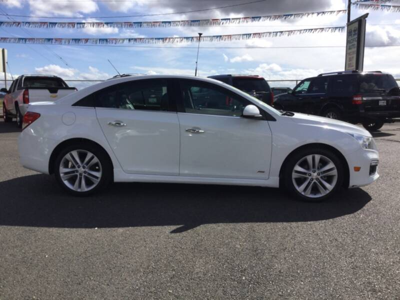 2015 Chevrolet Cruze LTZ Auto 4dr Sedan w/1SJ - Woodburn OR