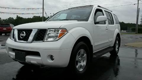 2006 Nissan Pathfinder for sale in Centre, AL