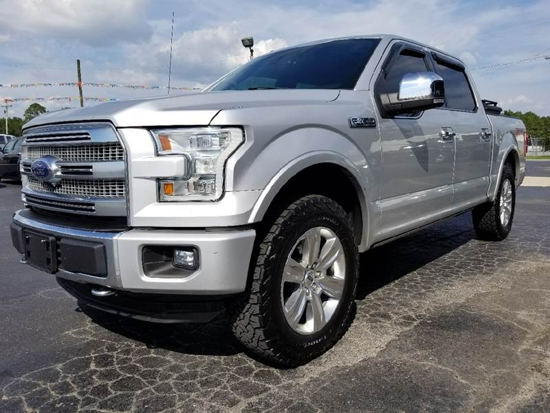 F 150 Platinum For Sale >> 2015 Ford F 150 Platinum In Centre Al The Auto Super Center