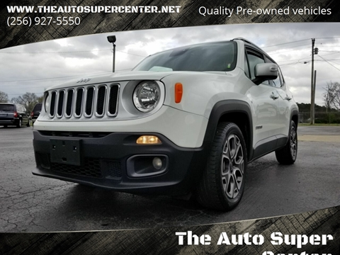 2016 Jeep Renegade for sale in Centre, AL