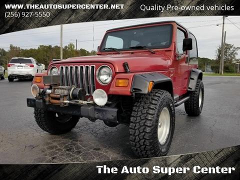 1999 Jeep Wrangler For Sale >> 1999 Jeep Wrangler For Sale In Centre Al