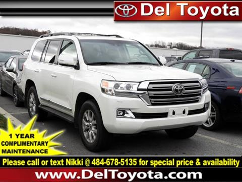 2017 Toyota Land Cruiser For Sale In Thorndale Pa