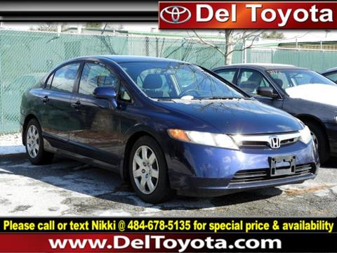 2008 Honda Civic for sale in Thorndale, PA