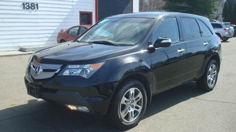 2008 Acura MDX for sale at American Auto Specialist Inc in Berlin CT