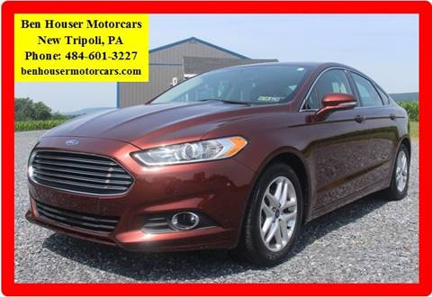 2015 Ford Fusion for sale in New Tripoli PA