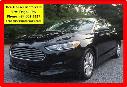 2016 Ford Fusion for sale in New Tripoli PA