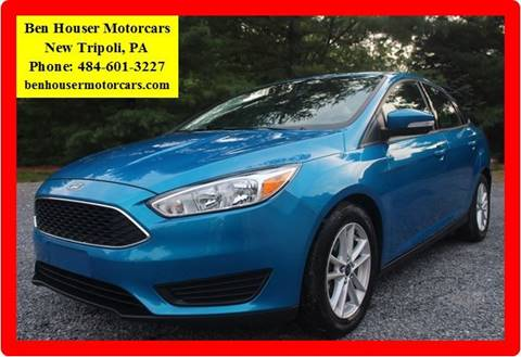 2015 Ford Focus for sale in New Tripoli PA