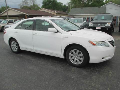 2007 Toyota Camry Hybrid for sale at U C AUTO in Urbana IL