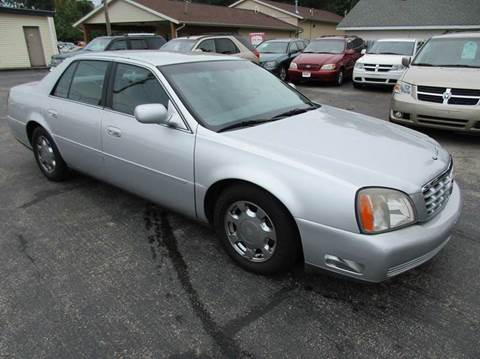 2001 Cadillac DeVille for sale at U C AUTO in Urbana IL