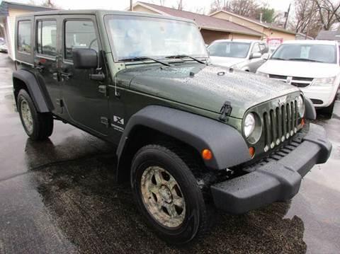 2008 Jeep Wrangler Unlimited for sale at U C AUTO in Urbana IL
