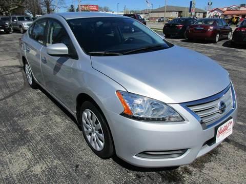 2013 Nissan Sentra for sale at U C AUTO in Urbana IL