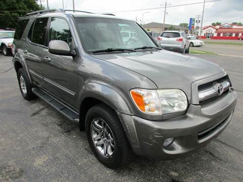 2005 Toyota Sequoia for sale at U C AUTO in Urbana IL