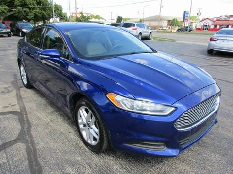 2014 Ford Fusion for sale at U C AUTO in Urbana IL